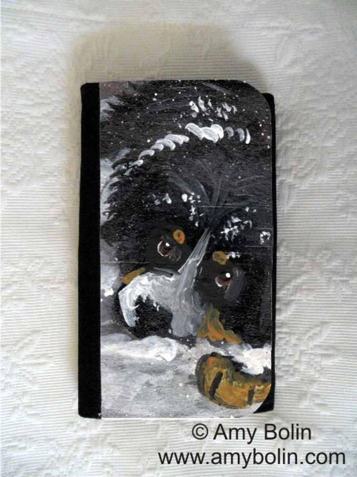 LARGE ORGANIZER WALLET · MY FIRST WINTER · BERNESE MOUNTAIN DOG · AMY BOLIN