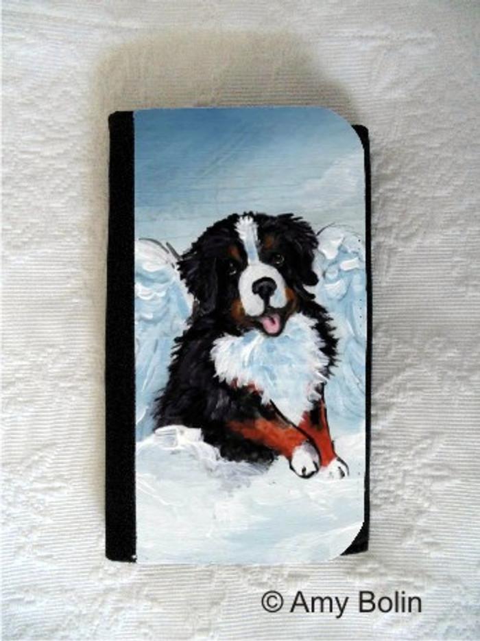 LARGE ORGANIZER WALLET · MY SWEET ANGEL · BERNESE MOUNTAIN DOG · AMY BOLIN