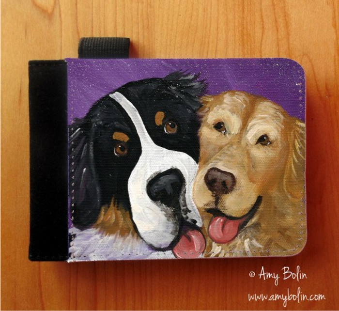 NOTEBOOKS (SEVERAL SIZES AVAILABLE) · BE MINE · BERNESE MOUNTAIN DOG, GOLDEN RETRIEVER · AMY BOLIN