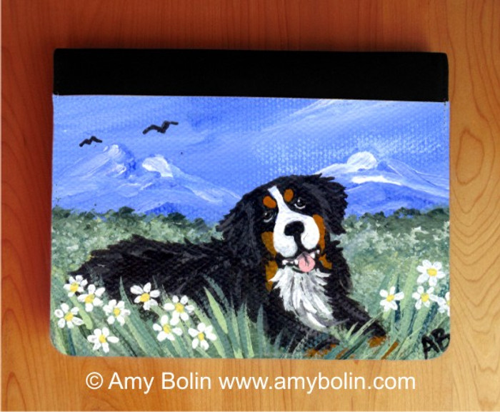 NOTEBOOKS (SEVERAL SIZES AVAILABLE) · MOUNTAIN HOME · BERNESE MOUNTAIN DOG · AMY BOLIN