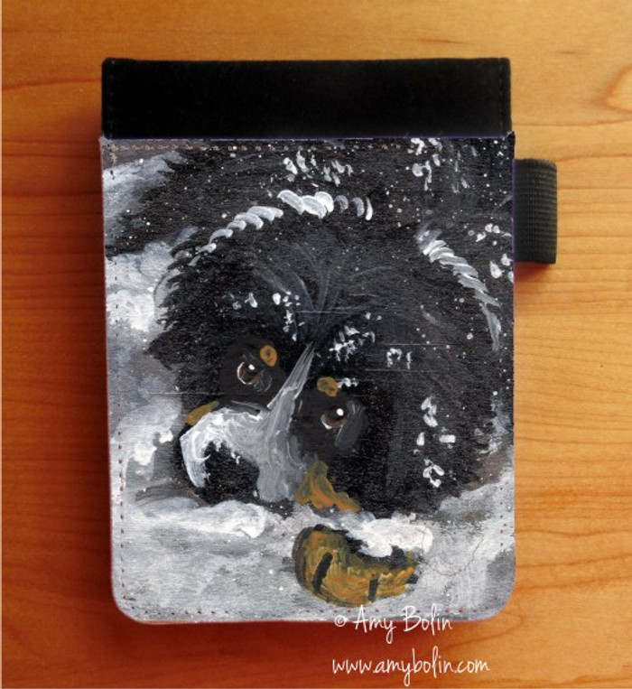 NOTEBOOKS (SEVERAL SIZES AVAILABLE) · MY FIRST WINTER · BERNESE MOUNTAIN DOG · AMY BOLIN