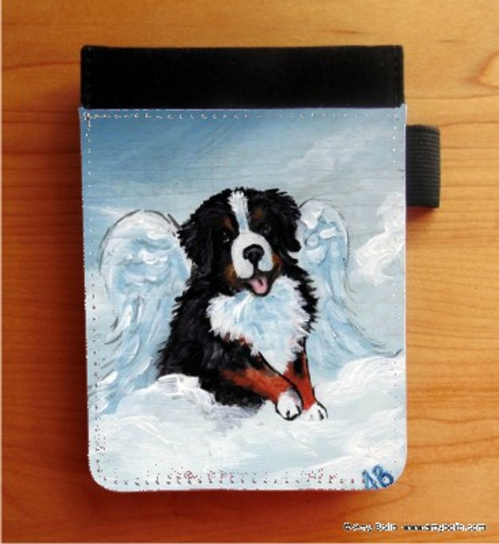 NOTEBOOKS (SEVERAL SIZES AVAILABLE) · MY SWEET ANGEL · BERNESE MOUNTAIN DOG · AMY BOLIN