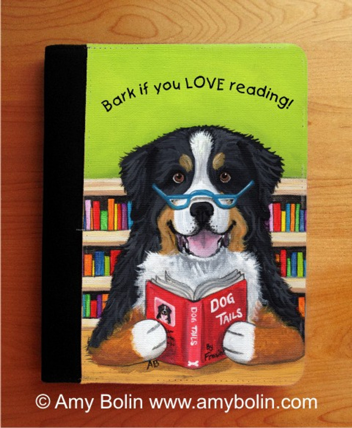 NOTEBOOKS (SEVERAL SIZES AVAILABLE) · DOG TAILS VOL 4 · BERNESE MOUNTAIN DOG · AMY BOLIN