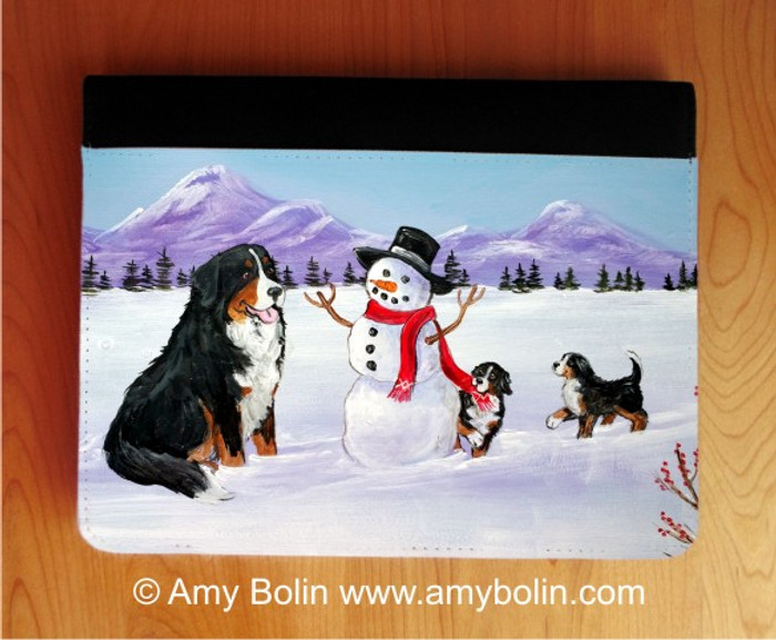 NOTEBOOKS (SEVERAL SIZES AVAILABLE) · OUR SNOWY FRIEND · BERNESE MOUNTAIN DOG · AMY BOLIN