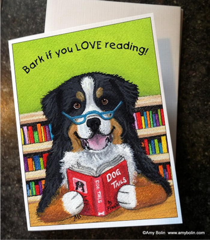 NOTE CARDS · DOG TAILS VOL 4 · BERNESE MOUNTAIN DOG · AMY BOLIN
