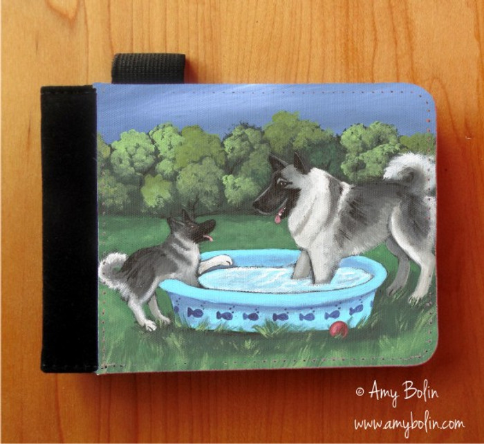 NOTEBOOKS (SEVERAL SIZES AVAILABLE) · SUMMER'S SIMPLE PLEASURES · NORWEGIAN ELKHOUND · AMY BOLIN