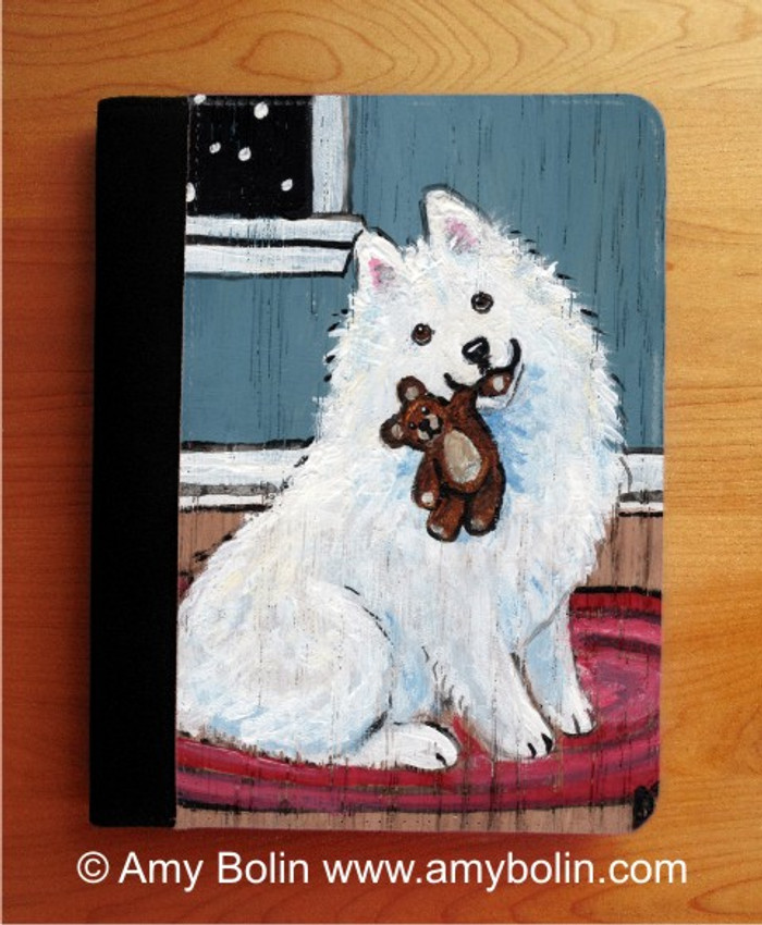 NOTEBOOKS (SEVERAL SIZES AVAILABLE) · BEDTIME BUDDIES · SAMOYED · AMY BOLIN