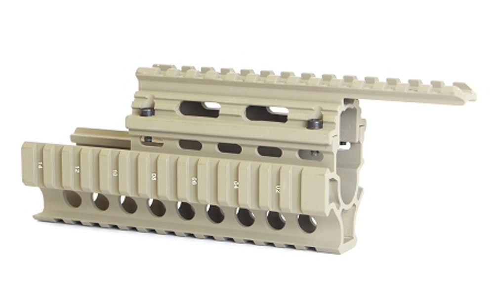 AK Quad Rail Mount - Tan