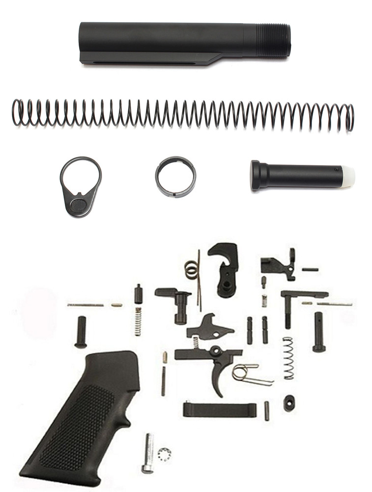 Davidson Defense AR-15 Mil-Spec Lower Build Kit