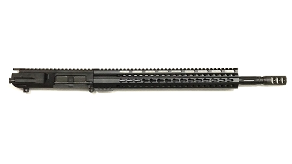 "Davidson Defense ""Surgeon"" Assembled Upper 18"" ""MATCH-X""6.5 Creedmoor H-Bar 1:8T 416R Fluted Stainless Melonite Nitride Barrel 15"" Ultra-Slim Keymod Handguard"