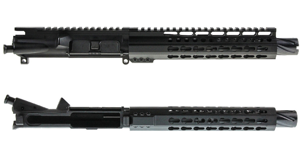 "Davidson Defense AR-15 ""Andromeda"" Assembled Pistol Upper Receiver 8.5"" .300 Blackout 4150 CMV 1-8T Barrel 9"" KeyMod Handguard"