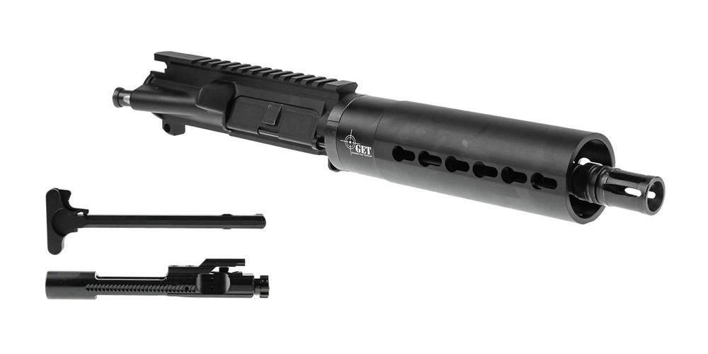 "Davidson Defense AR-15 ""Blaze"" Pistol Upper Receiver 7.5"" 5.56 NATO 4150 CMV 1-7T Barrel 7"" KeyMod Handguard w/ BCG & Charging Handle"