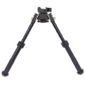 6 to 9 Inch Quick Release Extendable Folding Bipod with Quick-Collar Extending Legs