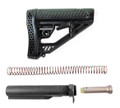 Adaptive Tactical AR-15 EX Performance Adjustable Stock & Mil-Spec Buffer Tube Kit Combo