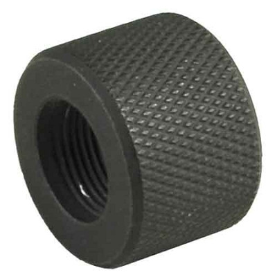 Omega Mfg AR-15 Thread Protector, Black oxide, 556 1/2x28