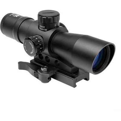 4X32 Compact-Red & Green Illuminated P4 Sniper/Green Lens/Quick Release