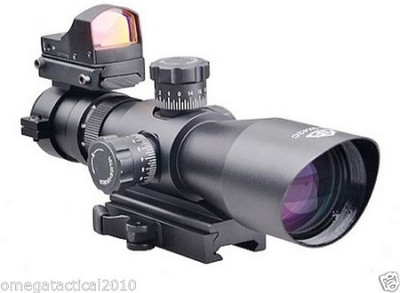 Trinity Force Redcon V2 3-9X42 Scope & Micro Dot Sight With Integrated Mount