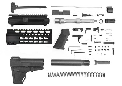 Davidson Defense Pistol Complete Pistol Kit Minus Lower and BCG