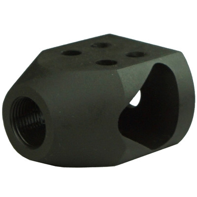 "Omega Mfg AR-15 .223/5.56 1/2""x28 TPI Competition Mini Tanker Muzzle Brake Compensator w/crush washer"