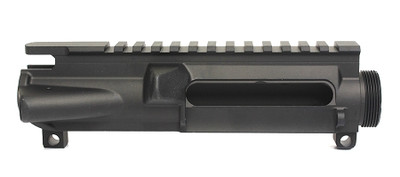 Sigma Precision Stripped Mil-Spec Upper Receiver M4 Feedramps - 7075 T6 Aluminum