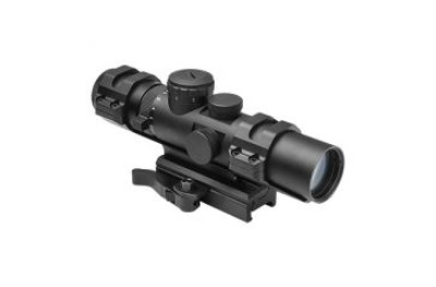 NcStar VISM XRS Scope Series 2-7x32mm Blue illumination Mildot Reticle