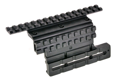 Omega Mfg. Adjustable AK Double Rail Side Mount