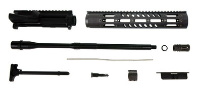 "Davidson Defense AR-15 Rifle Upper Kit Remington M-111 12"" Military Grade Light Weight Handguard & 16"" 5.56 NATO 1:8 Colt Competition Barrel"