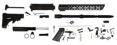 "Davidson Defense ""Executive"" AR-15 Rifle Build Kit W/ 16"" 5.56 1:8 M4 Barrel & 12"" Black Diamond M-lok Handguard - Everything Except Lower & BCG"