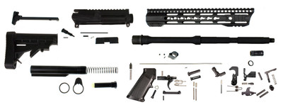 "Davidson Defense ""GoodSpeed"" AR-15 Rifle Build Kit W/ 16"" 5.56 1:8 M4 Barrel & 12"" Heavy Duty Keymod Handguard - Everything Except Lower & BCG"
