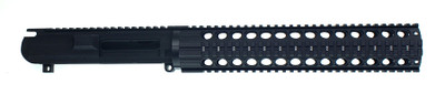 "DPMS AR-10 308 Upper Receiver W/ 12"" Circle Port Quad Rail Handguard Combo"