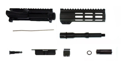 "Davidson Defense ""Phaser"" AR-15 Deluxe Pistol Upper Kit 7"" 5.56 NATO 1:7 Nitride Finish Barrel & 7"" M-Lok Free Float Quad Rail Handguard"