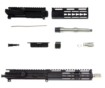 "Davidson Defense ""Project Echo"" Ar-15 Deluxe Pistol Upper Kit 7.5"".223 WYLDE Stainless Steel 1:7 T Barrel 7"" Trinity Force Echo Keymod Handguard"
