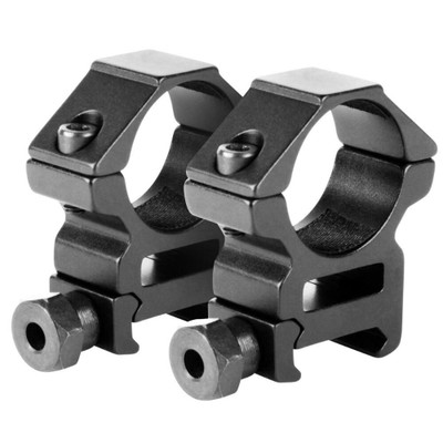 "AIM Sports 1"" Tactical Scope Ring set w/ QD knobs"