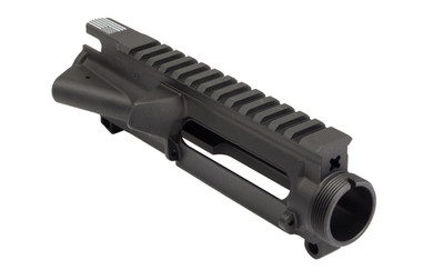 Aero Precision AR-15 Stripped Upper Receiver w/ Flag Etching - Anodized Black