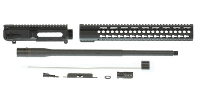 "Davidson Defense ""Peacemaker"" Unassembled DIY Upper 20"" Match .308 Win 1:10T 4150 CrMo Steel Barrel 15"" Freefloat Keymod Handguard"