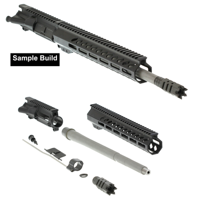 "Aero Precision ""Jefferson"" DIY Pistol Upper Kit 14.5"" Noveske Afghan 5.56x45 1:7 416R Stainless Steel Medium Contour Barrel 12"" Ported M-LOK Handguard"