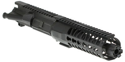 "Davidson Defense  Ar-15 9mm ""Tiger Shark"" Assembled Upper 7.5"" 9mm Manganese Phosphate 1:10T Barrel 7"" Spectre Keymod Handguard"