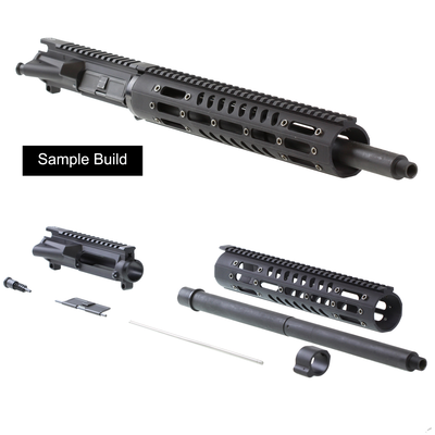 "Davidson Defense  Ar-15 ""Caiman"" Unassembled Upper Kit .458 SOCOM 16"" 4150 CMV 1:14T HBAR Barrel 12"" Remington M-111 Handguard"