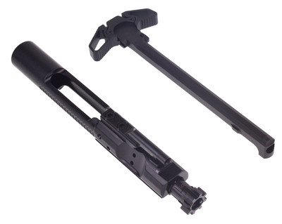 Prime Weaponry AR-15 M16 Nitride Bolt Carrier Group BCG & Lakota Ambidextrous Charging Handle COMBO