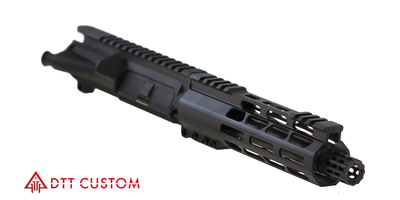 "MMC Armory ""Micro Tech"" Assembled Pistol Upper  7.5"" 9mm  QPG Nitride 1:10T Hbar Barrel 7""  Slim Free Float  M-lok  Handguard"