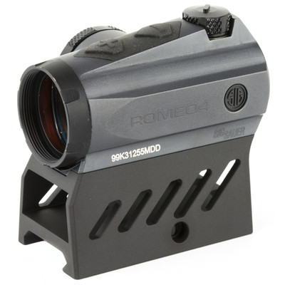 Sig Sauer Romeo 4M™ 1x20mm Red Dot Sight With Riser  (M Series Is The Mil-Spec Grade Model)