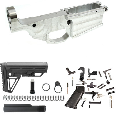 Noreen Lr-308 80% Complete Billet Lower Receiver Kit Combo Fits .308 Win 6.5 Creedmoor .243 Win **All Parts Needed To Complete Lr-308 Lower Assembly**