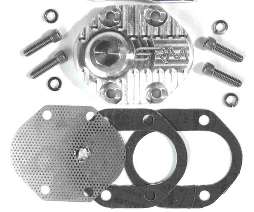 BSA PRE UNIT SINGLE BILLET SUMP FILTER KIT WITH DRAIN PLUG  SRM-SF2