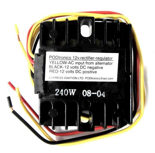 PODTRONICS 3 PHASE 12V RECTIFIER-REGULATOR