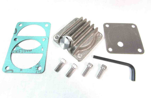 BSA A7 / A10 / B44 FINNED CAST ALUMINUM SUMP PLATE KIT
