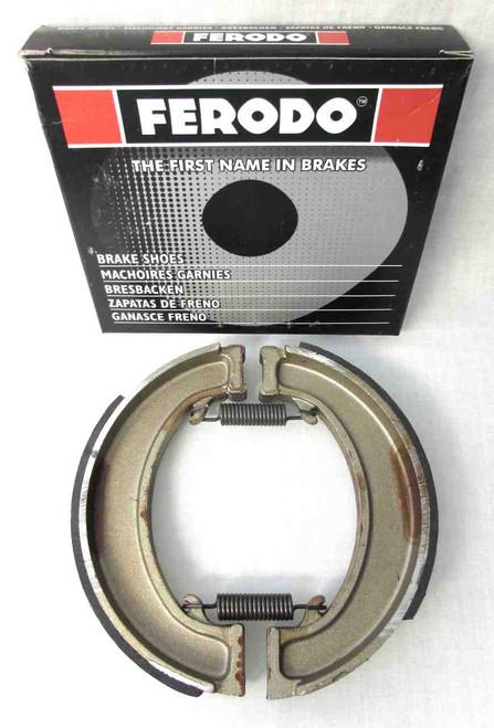 FERODO BRAKE SHOES FOR BSA/TRIUMPH MODELS WITH FULL HUB BRAKES