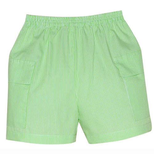 Lime Stripe Cargo Short