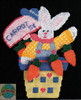 Design Works - Flowerpot Bunny Wall Hanging