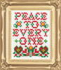 Design Works -  Peace Picture Kit w/Frame