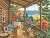 Janlynn - Log Cabin Covered Porch